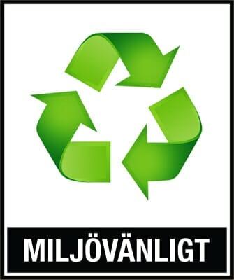 Miljövänligt packmaterial med en wellrivare