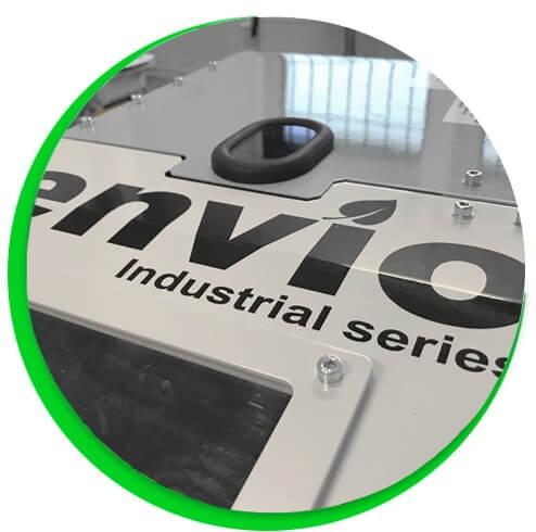 Pahvisilppuri - Envio Industrial series