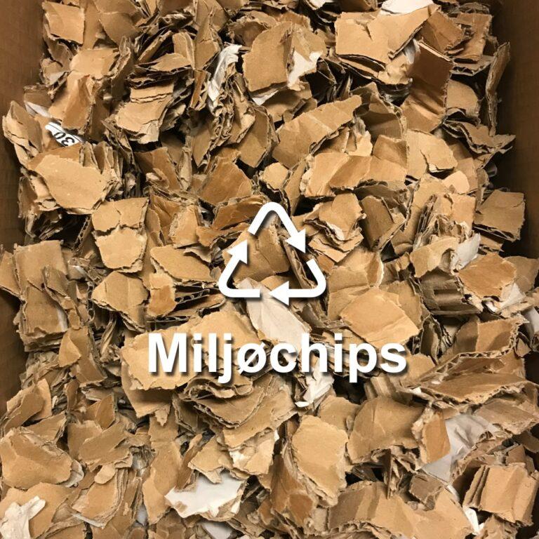 Envio pappskjærer for miljøchips